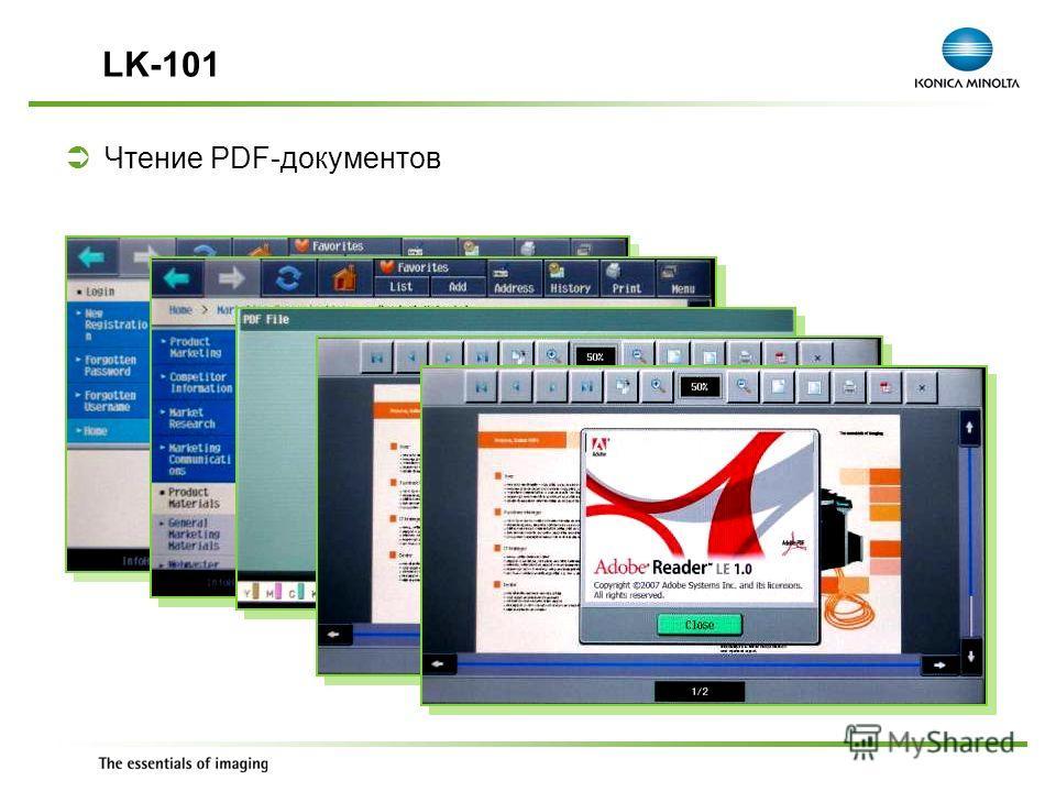 Exchange Meeting Jan 06 – Lars Moderow Чтение PDF-документов LK-101