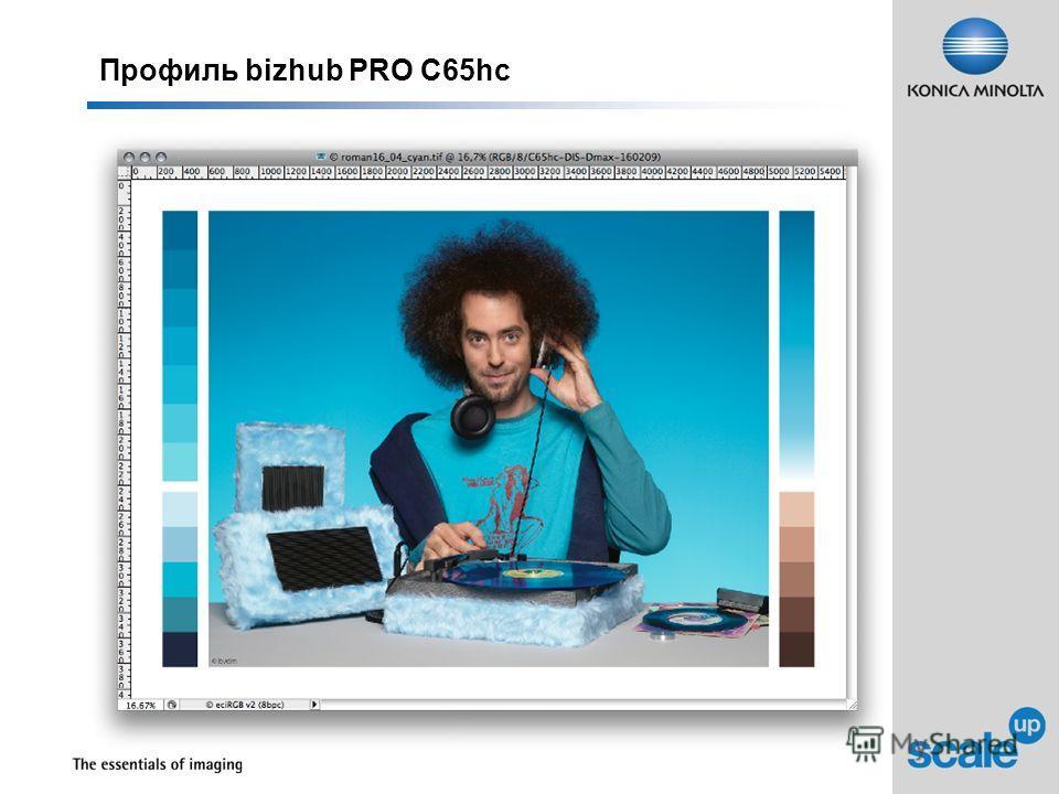 Профиль bizhub PRO C65hc