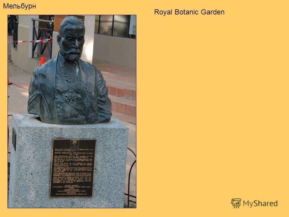 Мельбурн Royal Botanic Garden