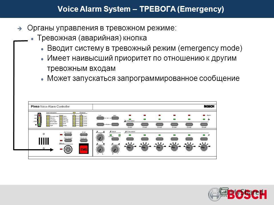 Особенности оборудования системы Plena Voice Alarm System Базовая система Входы Выходы Функции Расширение системы