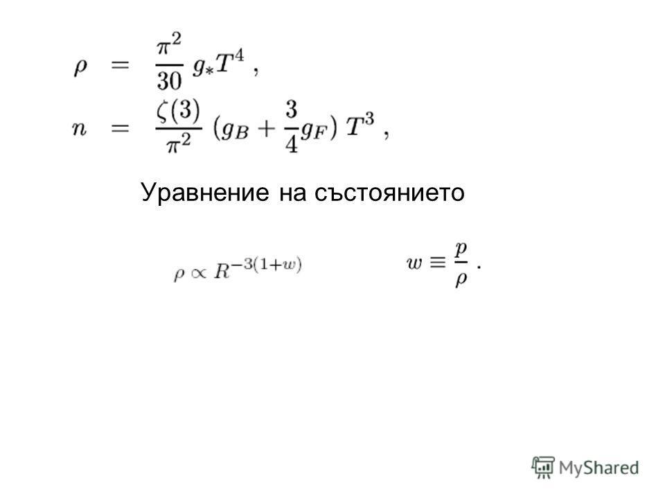 Уравнение на състоянието