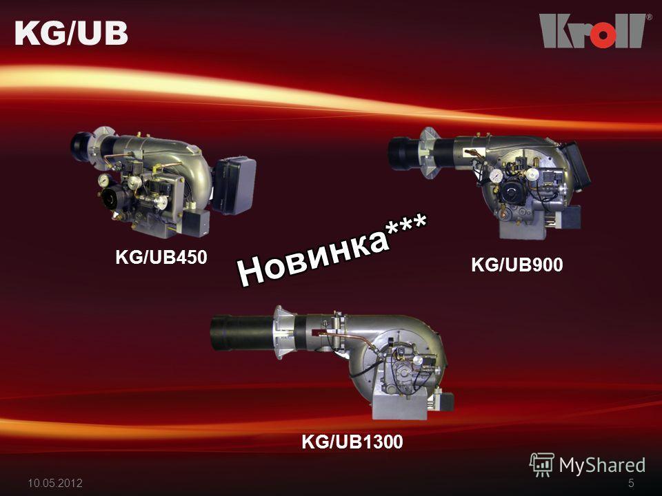 10.05.20125 KG/UB KG/UB450 KG/UB900 KG/UB1300