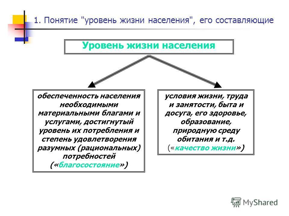 1. Понятие