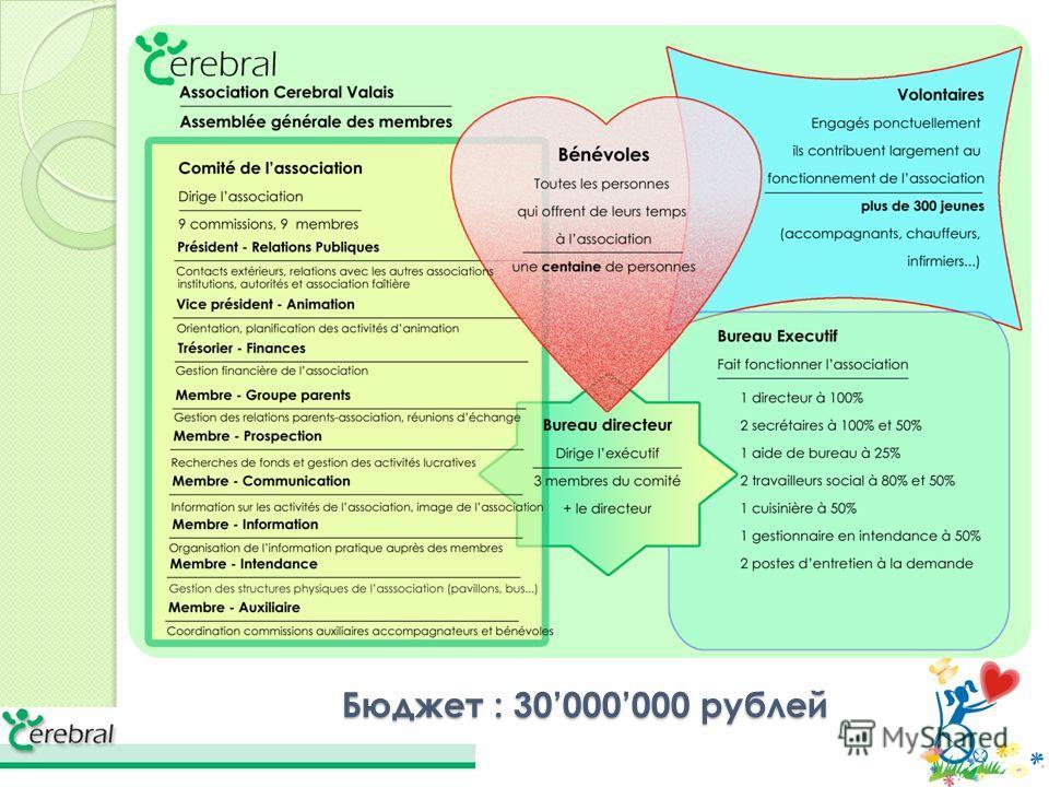 Бюджет : 30000000 рублей