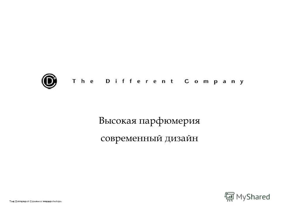 Высокая парфюмерия современный дизайн