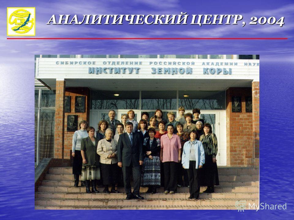 АНАЛИТИЧЕСКИЙ ЦЕНТР, 2004