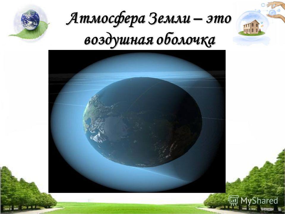 Атмосфера Земли – это воздушная оболочка