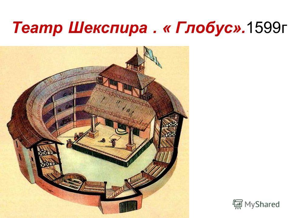 Театр Шекспира. « Глобус».1599г