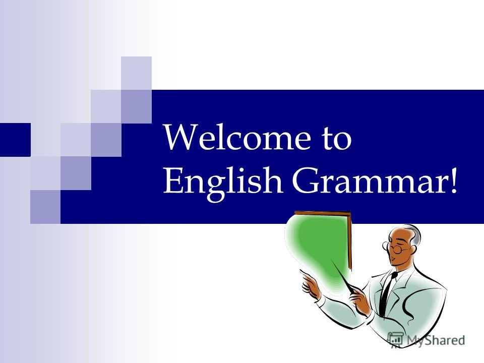 Welcome to English Grammar!