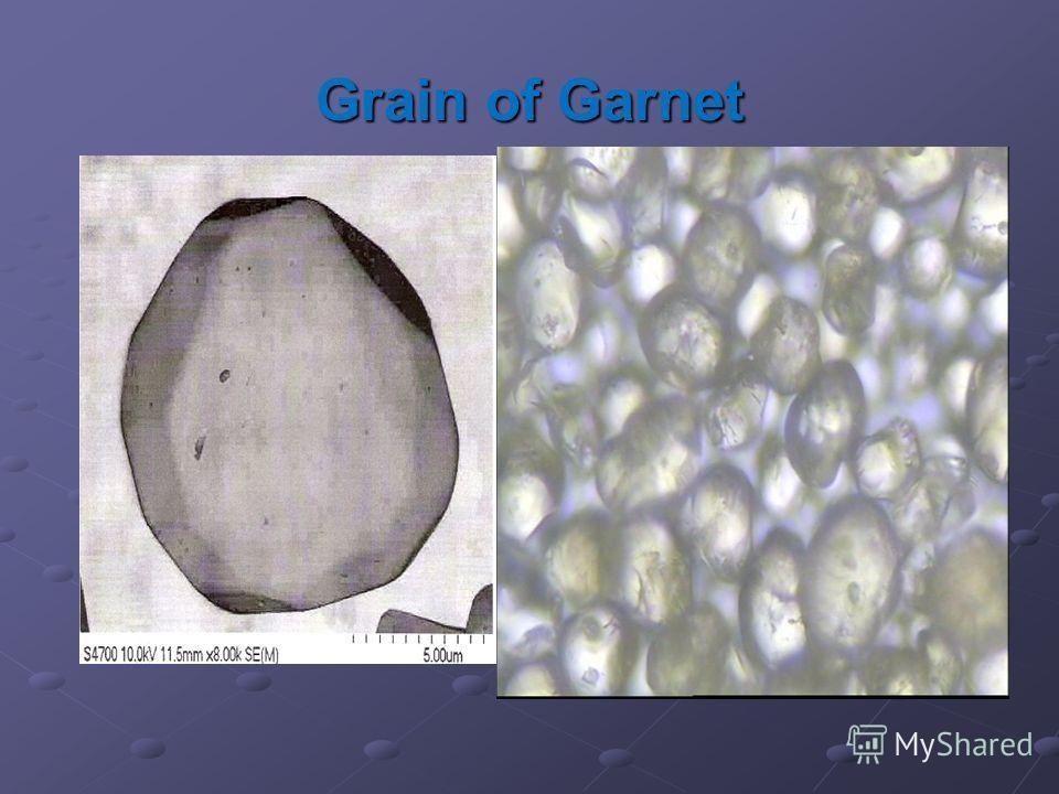 Grain of Garnet
