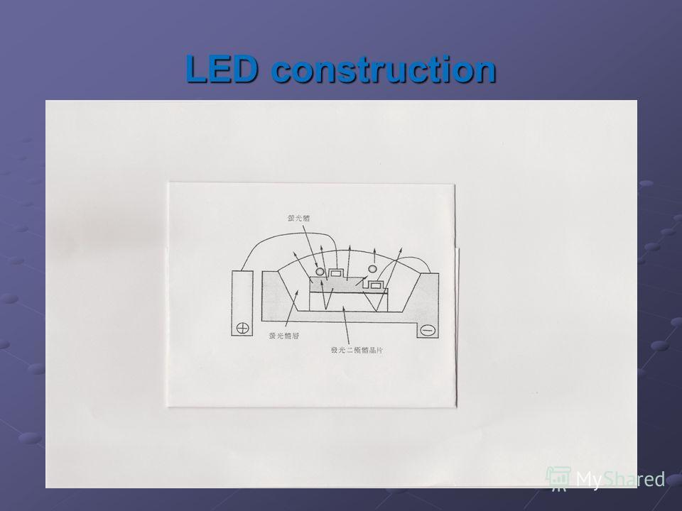 LED construction