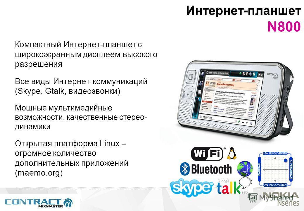 2 © 2007 Nokia Компактный Интернет-планшет с широкоэкранным дисплеем высокого разрешения Все виды Интернет-коммуникаций (Skype, Gtalk, видеозвонки) Мощные мультимедийные возможности, качественные стерео- динамики Открытая платформа Linux – огромное к