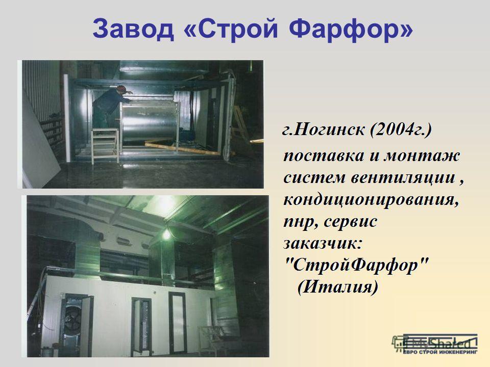 Завод «Строй Фарфор»
