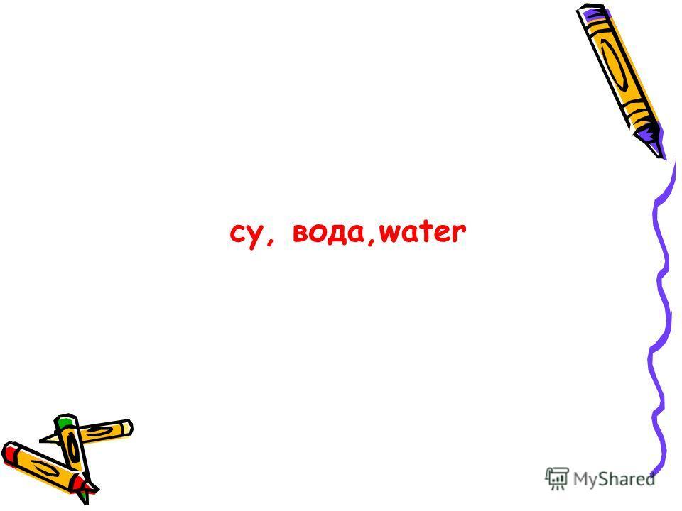 су, вода,water