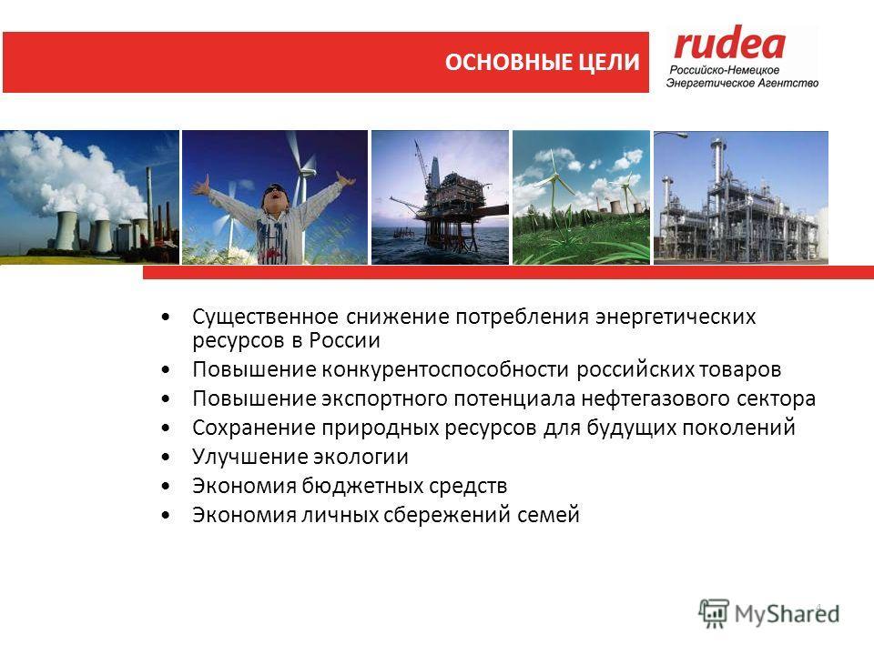 4 Существенное снижение потребления энергетических ресурсов в России Повышение конкурентоспособности российских товаров Повышение экспортного потенциала нефтегазового сектора Сохранение природных ресурсов для будущих поколений Улучшение экологии Экон