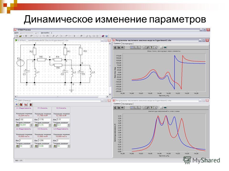 Динамическое изменение параметров