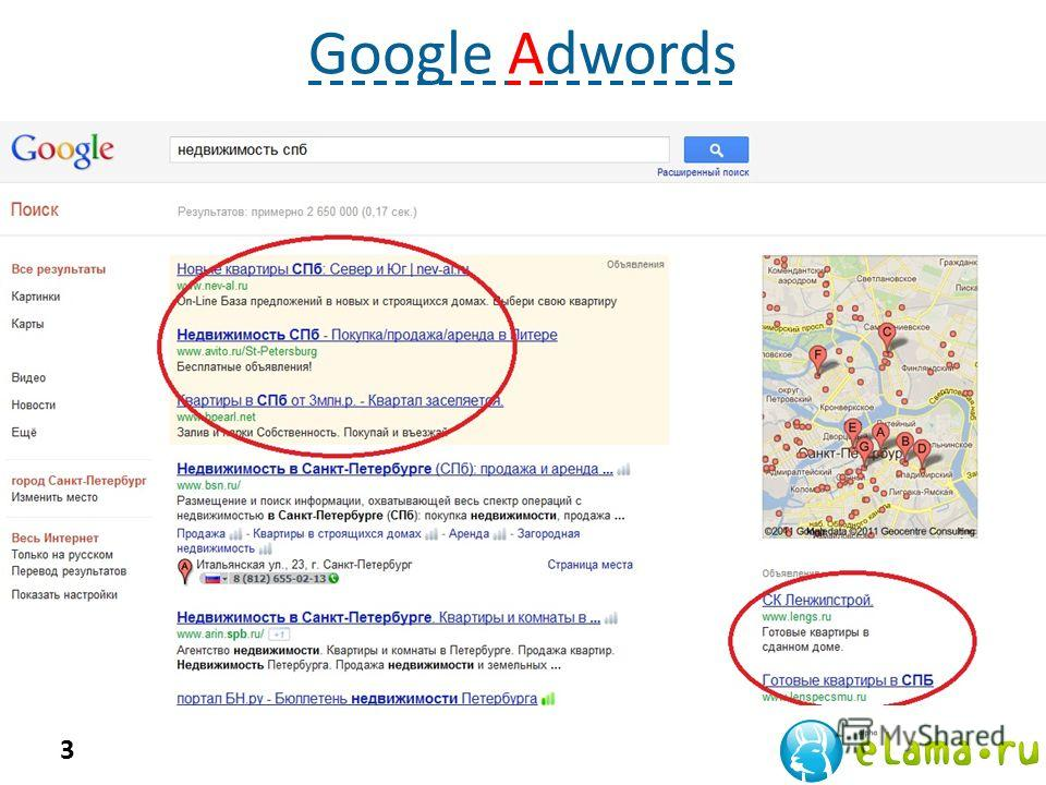 3 Google Adwords