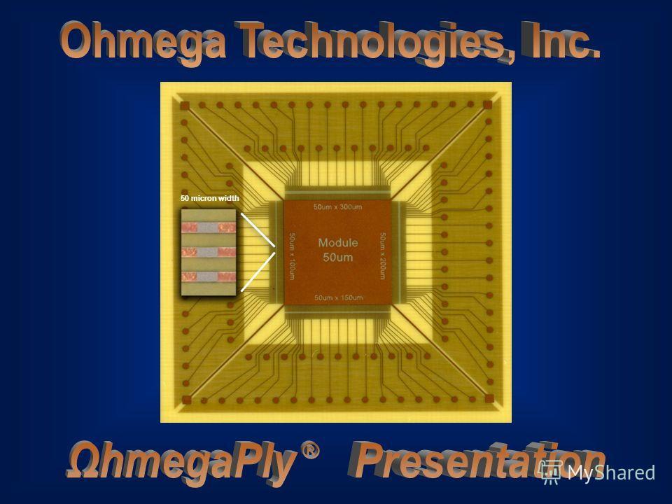 1 50 micron width