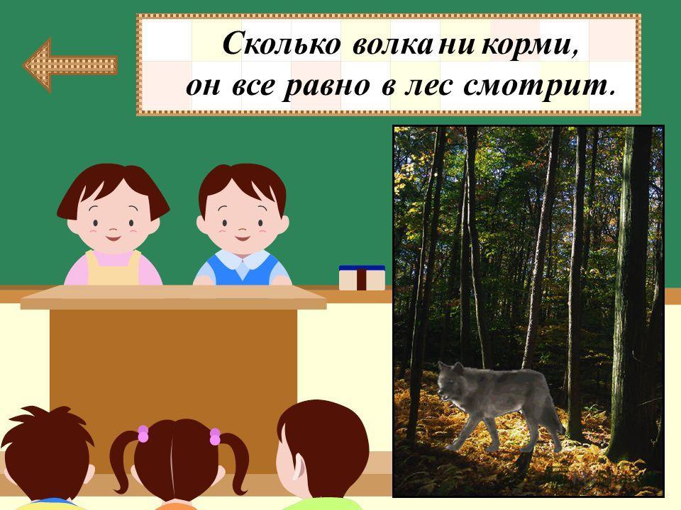 Куда смотрит волк, сколько его ни корми ? В МИСКУ НА КОЗЛЯТ В ЛЕС НА ВОЛЧИЦУ