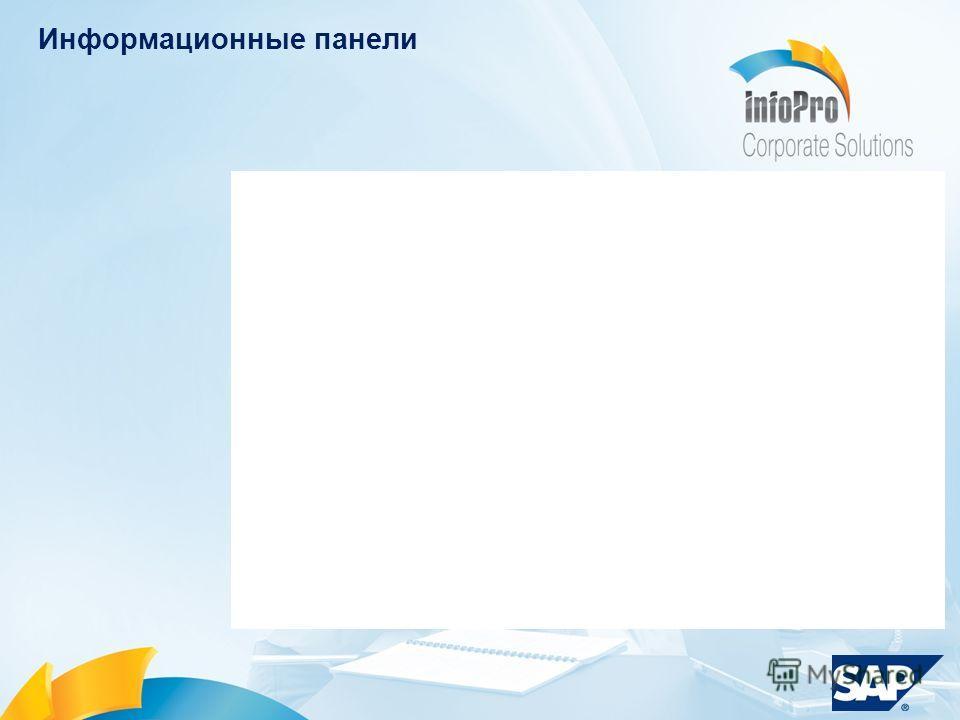Информационные панели