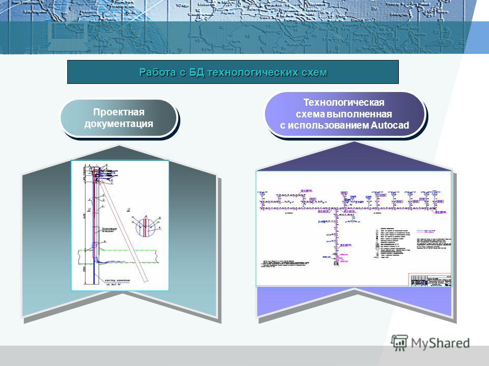 Проектная документация Проектная документация Технологическая схема выполненная с использованием Autocad Технологическая схема выполненная с использованием Autocad Работа с БД технологических схем