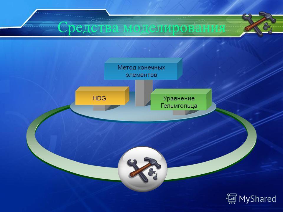Средства моделирования HDG Метод конечных элементов Уравнение Гельмгольца