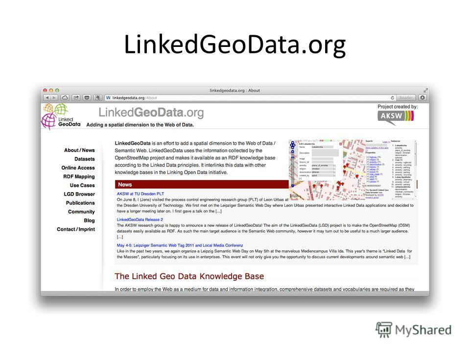 LinkedGeoData.org
