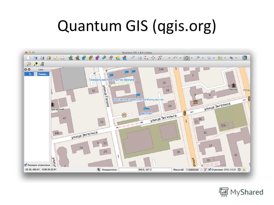 Quantum GIS (qgis.org)