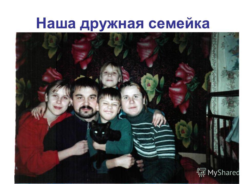 Наша дружная семейка