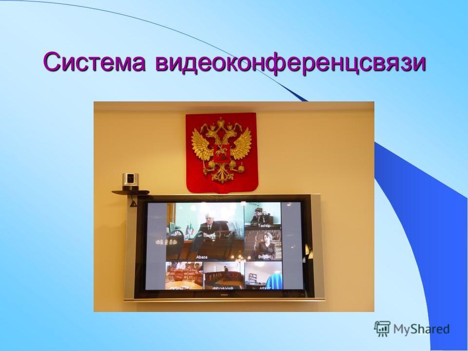 31 Система видеоконференцсвязи