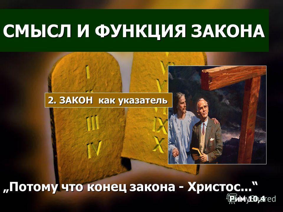 СМЫСЛ И ФУНКЦИЯ ЗАКОНА Но кто вникнет в закон… рассматривает черты лица своего в зеркале… Иакова 1,23-25 1. ЗАКОН как зеркало