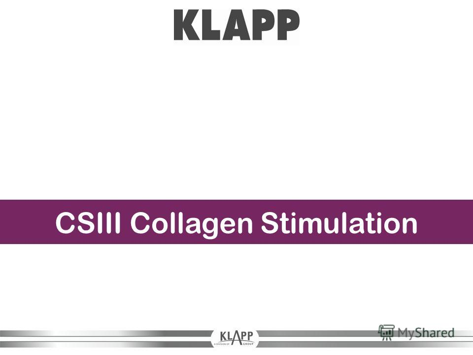 CSIII Collagen Stimulation