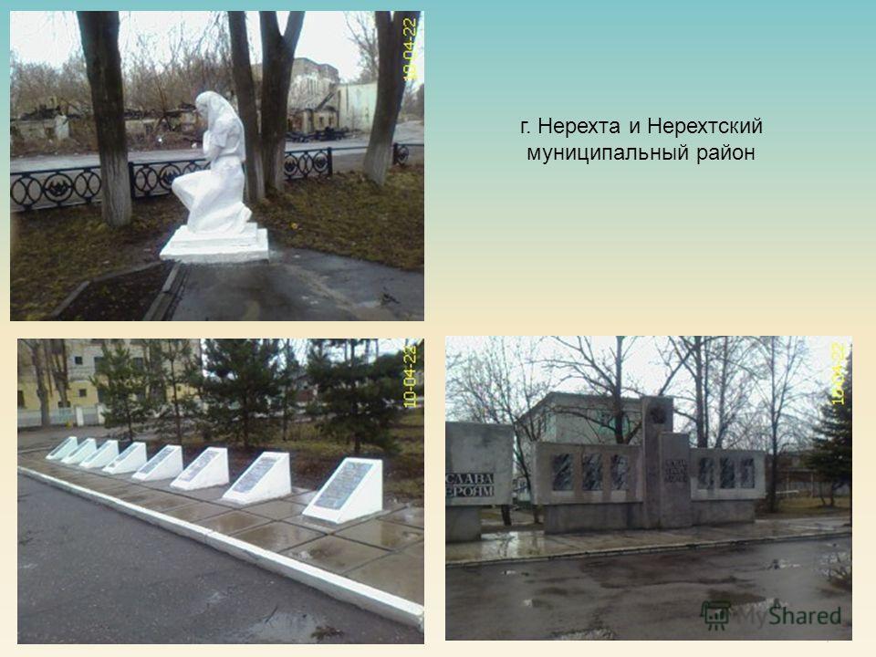 7 г. Нерехта и Нерехтский муниципальный район