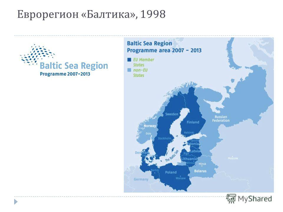 Еврорегион « Балтика », 1998