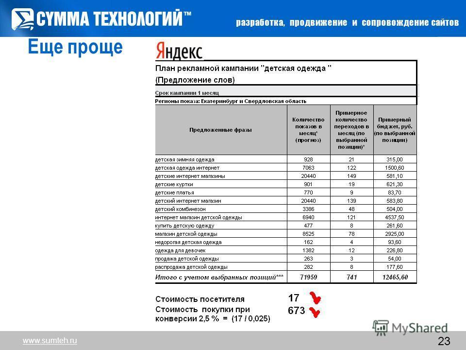 23 Еще проще www.sumteh.ru