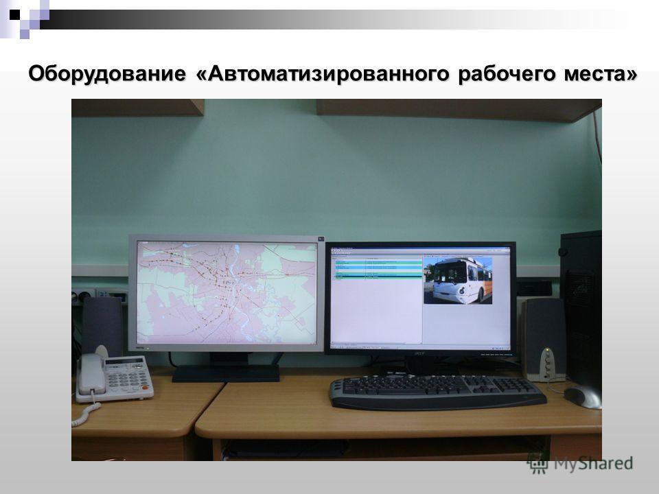 Г р у п п а к о м п а н и й «A R K A N» Оборудование «Автоматизированного рабочего места»