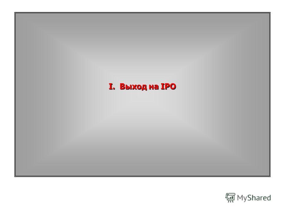 I.Выход на IPO