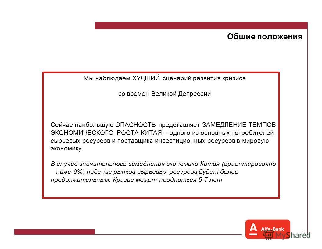 Последствия глобального кризиса для России Саймон Вайн, Директор Управления долговых и производных инструментов Альфа-Банк Москва, 2008 год