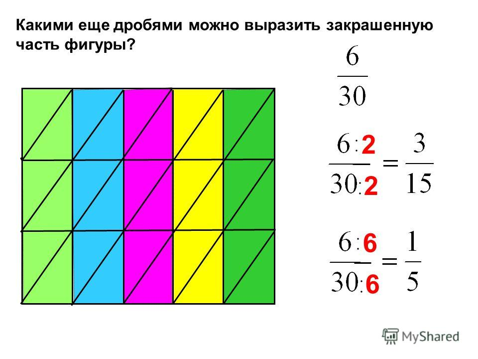 Разделите числитель и знаменатель дроби на наибольший общий делитель. 4 4