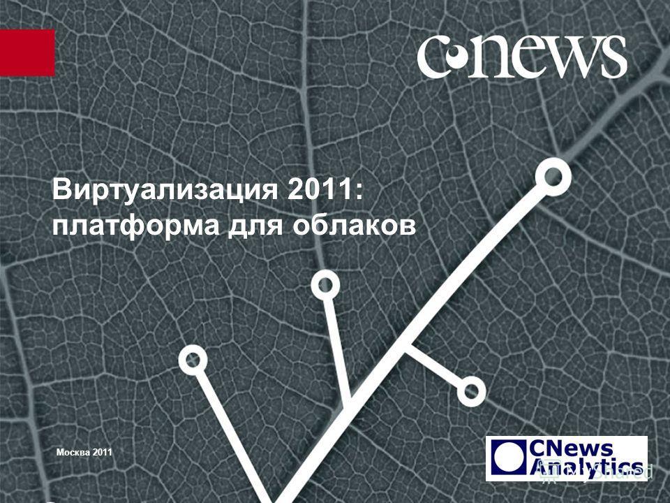 Виртуализация 2011: платформа для облаков Москва 2011