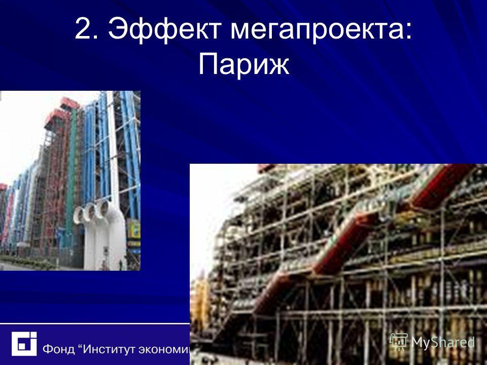 2. Эффект мегапроекта: Париж