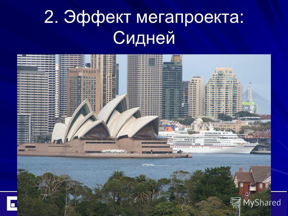 2. Эффект мегапроекта: Сидней