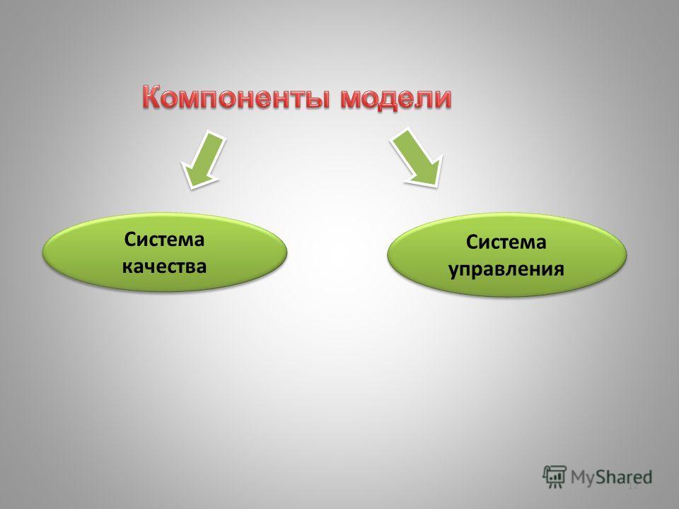 17 Система качества Система управления