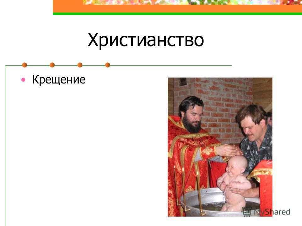 Христианство Крещение