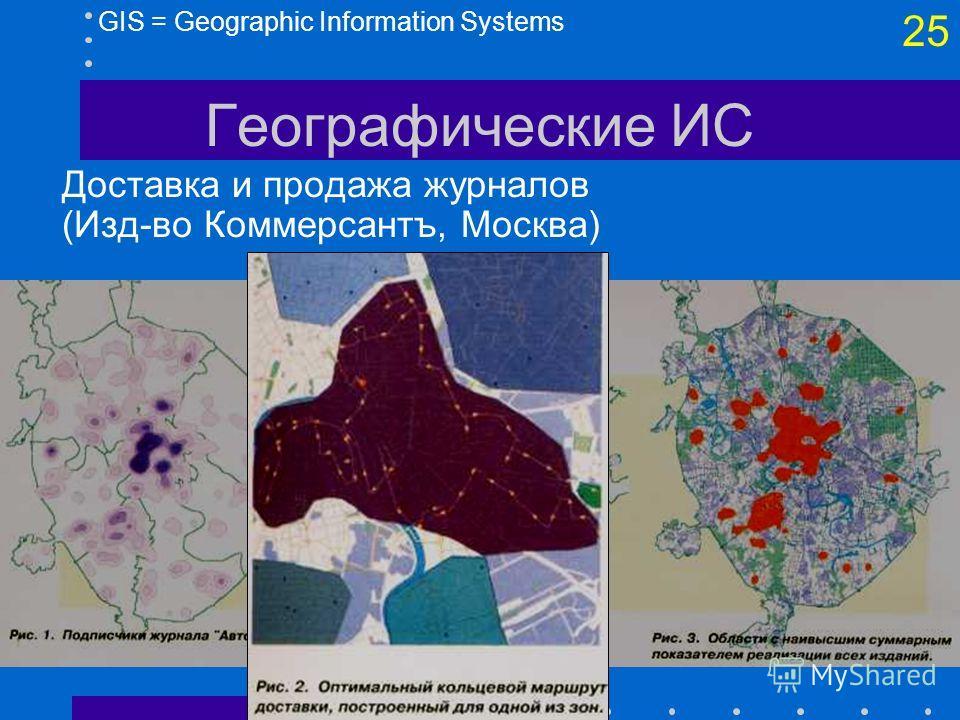 24 GIS = Geographic Information Systems Географические ИС Геомаркетинг планирование использования помещений (Delta Airlines, Atlanta Airport)