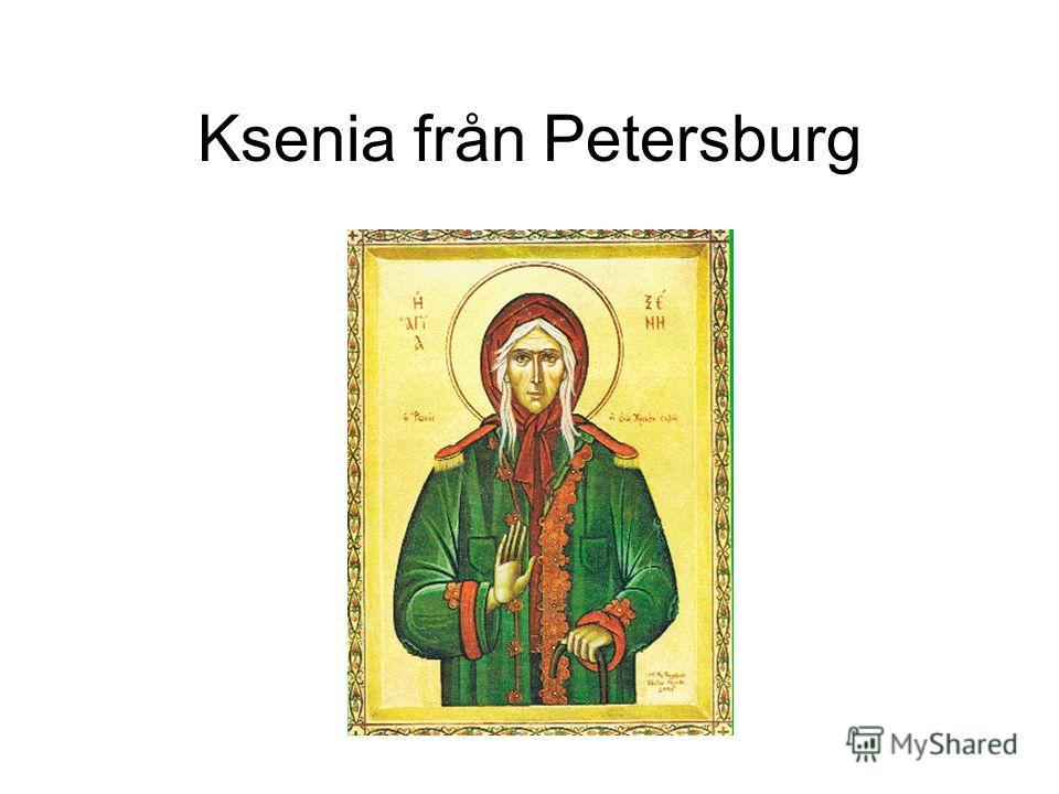 Ksenia från Petersburg