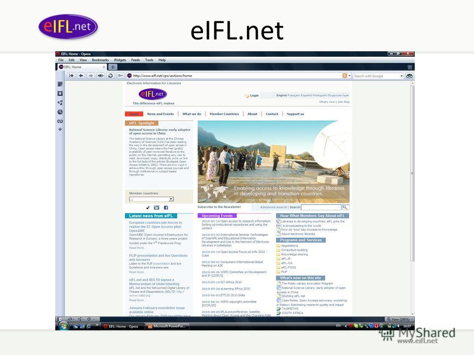 eIFL.net