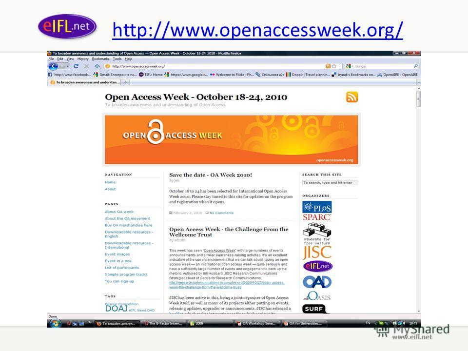 http://www.openaccessweek.org/