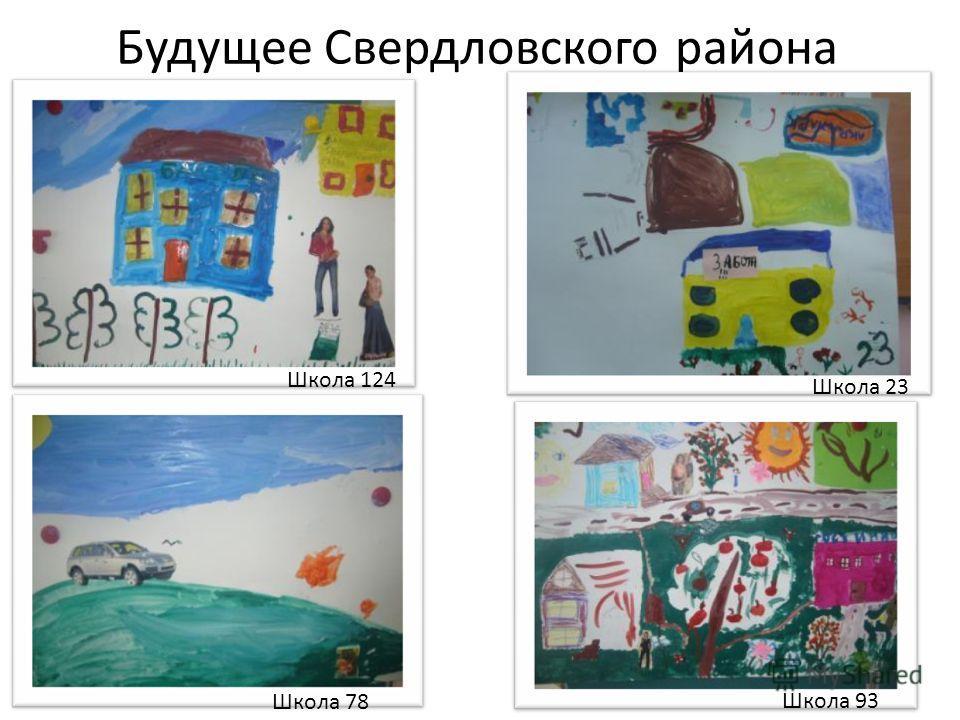 Будущее Свердловского района Школа 124 Школа 23 Школа 78 Школа 93
