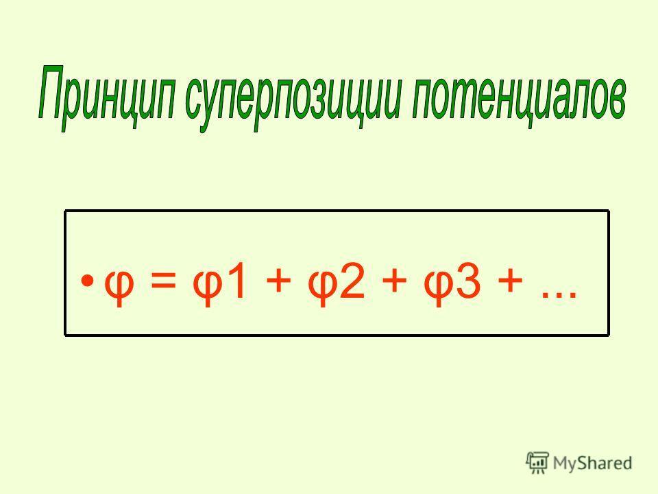 φ = φ1 + φ2 + φ3 +...